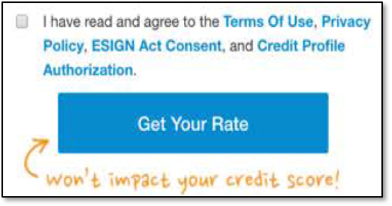 LendingClub terms of service consent