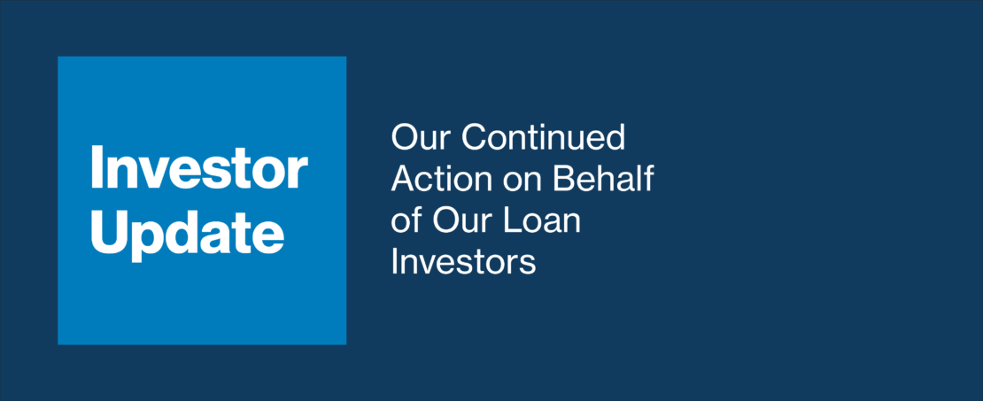 Investor Update: Our Continued Action on Behalf of Our Loan Investors -  LendingClub Blog