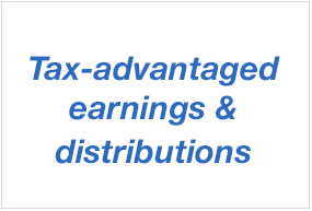 Tax advantaged earnings